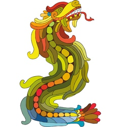 Dragon Rainbow vector image vector image