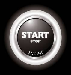 engine start vector image vector image