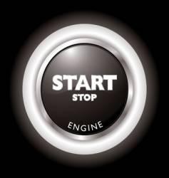engine start vector image