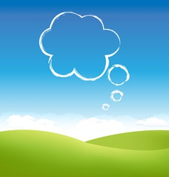 Cloud fields vector