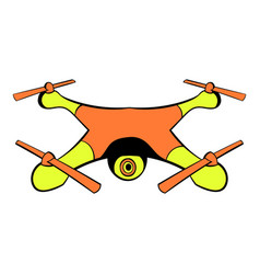 drone icon icon cartoon vector image
