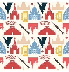 Moscow pattern colored mixed vector