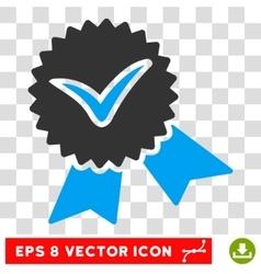 Validation seal eps icon vector