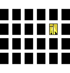 many windows vector image