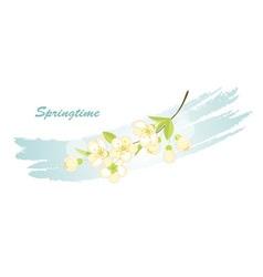 springtime vector image vector image