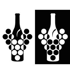 wine symbol vector image