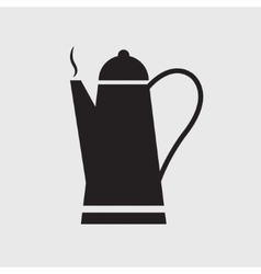 Cafetiere icon vector