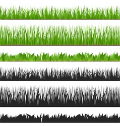 Seamless grass vector