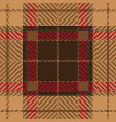 pink tartan plaid seamless pattern vector image