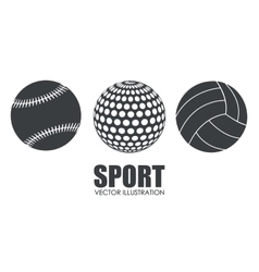 sport related icon image vector image vector image