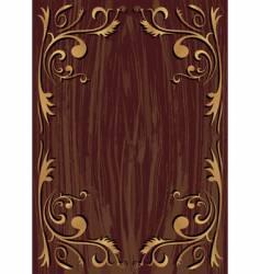 wood texture vector image