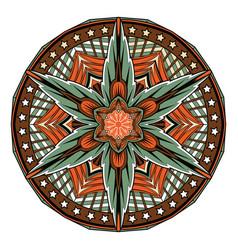 abstract mandala oriental pattern tattoo vector image