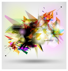 Abstract modern banner vector image vector image