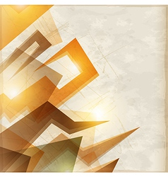 abstract rectangle vector image vector image