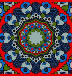 beautiful circular pattern unusual background vector image