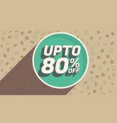 Discount voucher design for marketing and vector