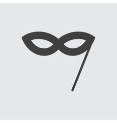 Masquerade mask icon vector