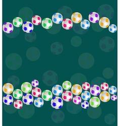 Sport Balls Seamless Pattern vector image