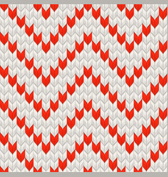 White and red holiday seamless pattern eps 10 vector