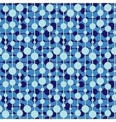Seamless circle pattern vector image