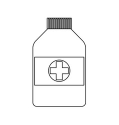 Health icon vector