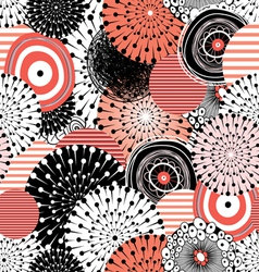 abstract graphic pattern vector image vector image