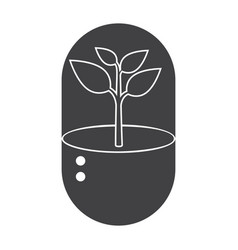 Biotechnology icon vector