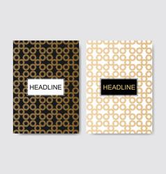Brochure design template flyer layout vector