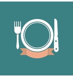 Eatery symbol vector