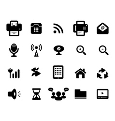 Media and Communication Icon vector image vector image