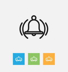 Of education symbol on school vector