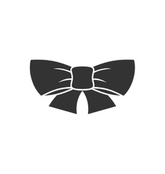 Ribbon bow icon vector image vector image