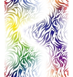 Abstract stripes pattern vector image