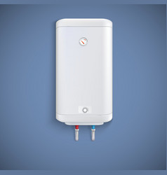 Electric water heater vector