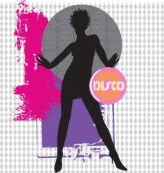 Collage dancer vector