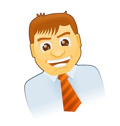 Business Cartoon Character vector image vector image