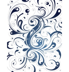 Detailed Swirl Background vector image