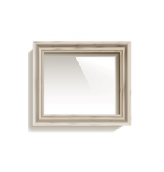Empty Frame On The Wall vector image