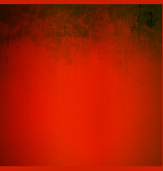 Grunge red scratching artistic background vector