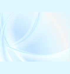 light blue abstract smooth blurred waves vector image vector image