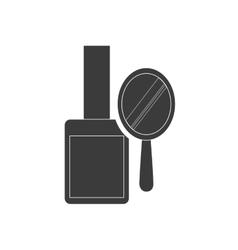 nails polish makeup product vector image