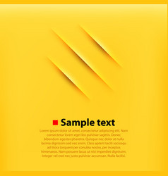 Scratches yellow background vector