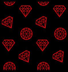 Concept abstract geometry diamond vector