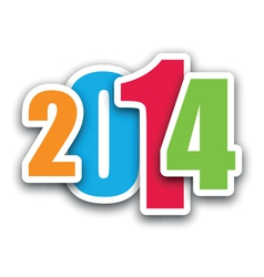 2014 coloured vector