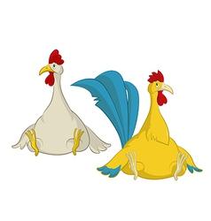 Chiken vector image vector image