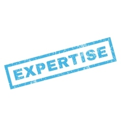 Expertise rubber stamp vector