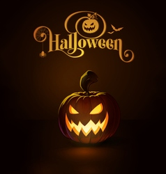 Jack o lantern dark scary cool vector