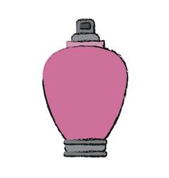 Woman fragance icon vector