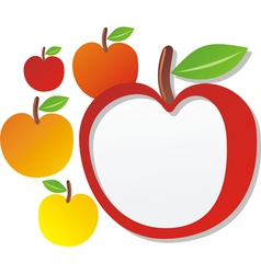 Apple sign vector