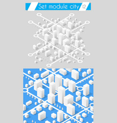 set for design 3d vector image
